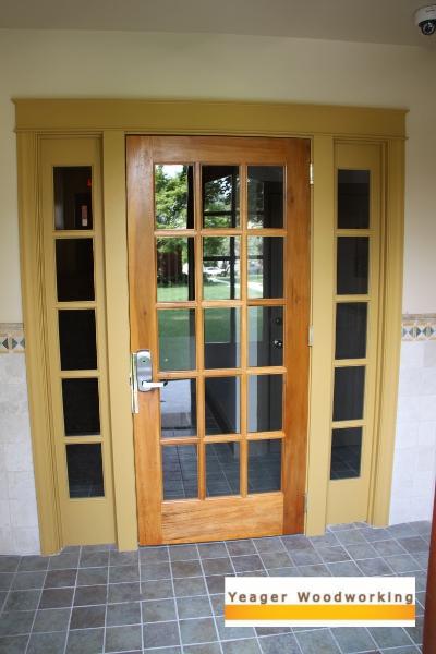 6 foot exterior door